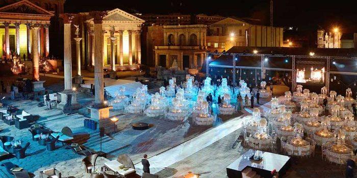Capodanno a Roma · Cinecittà Studios